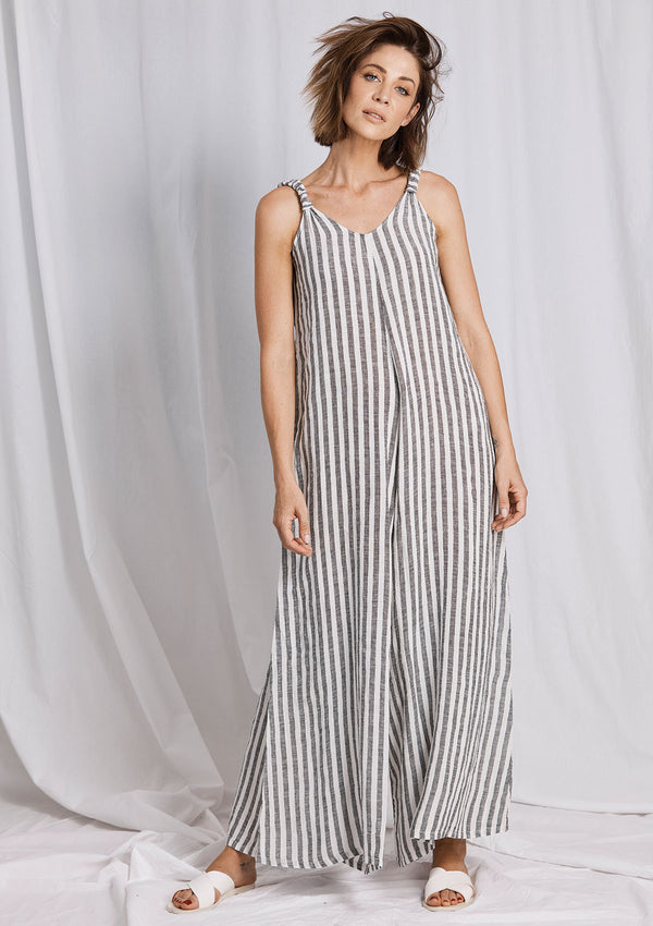 La Bottega Striped Tuta Athena