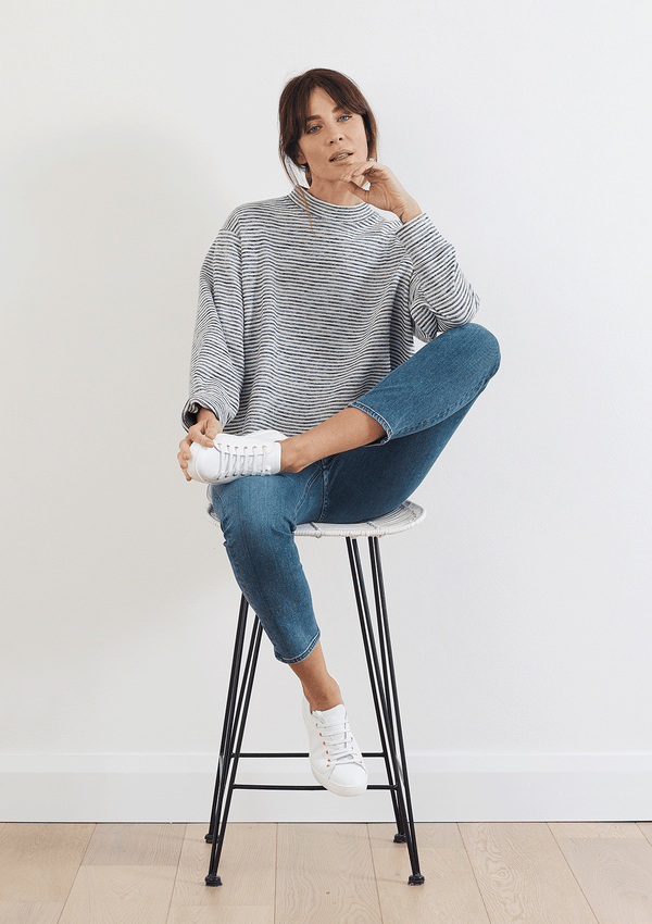 Mela Purdie Double Knit Artisan Sweater