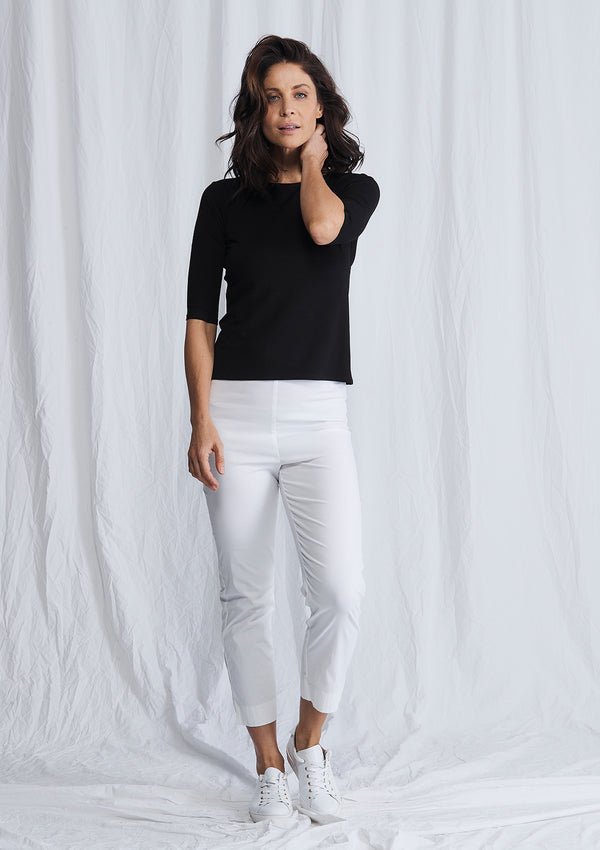 Mela Purdie Microprene Cropped Pants