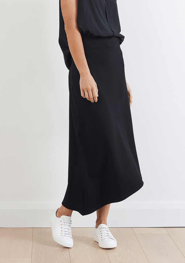 Mela Purdie Ridge Knit Oblique Skirt