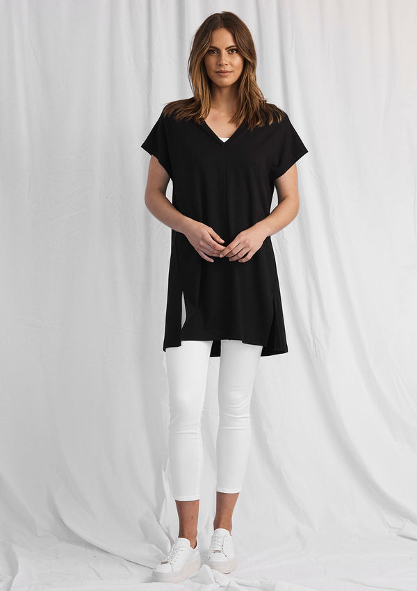 Mela Purdie Compact Knit Wedge Tunic