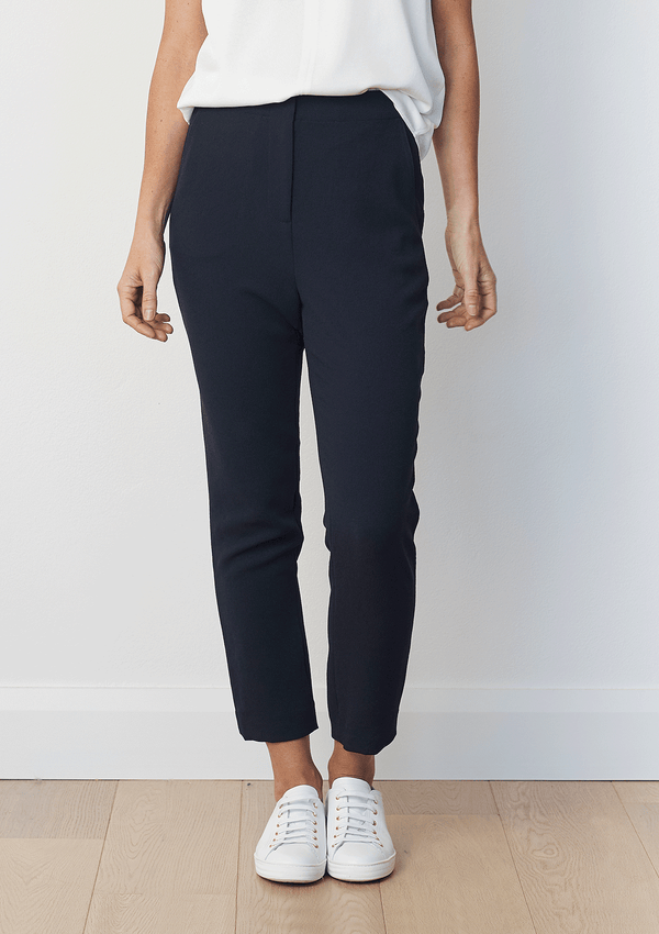 Luxe Deluxe Borderline Drop Crop Pant