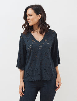 Mela Purdie Liberty Lace Fluted Spa T