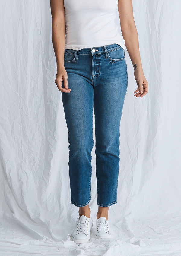 Frame Le High Straight Jean