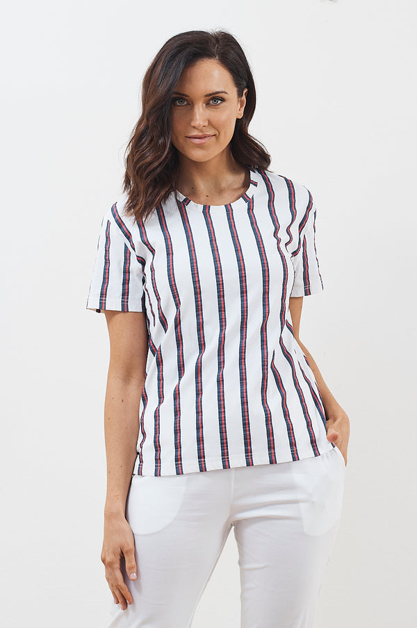 Federal Stripe Bermuda T