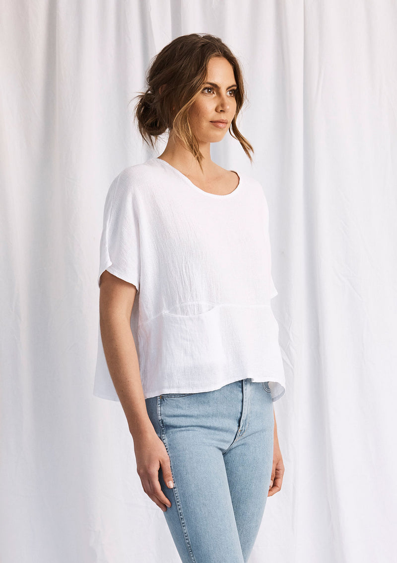 Khlassik Short Sleeve Issie Top