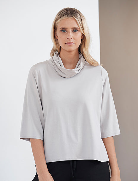 Mela Purdie Cowl Neck Spa Top