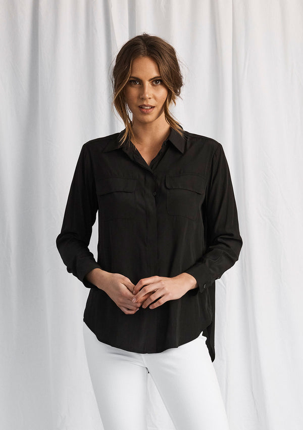Mela Purdie Macro-Mousseline Soft Pocket Shirt