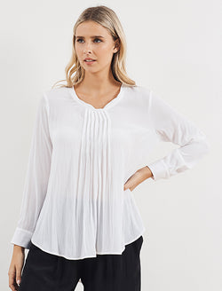 Mela Purdie Micro Pleat Blouse