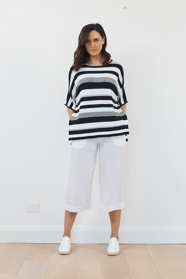Lounge the Label Tereza Striped Tunic