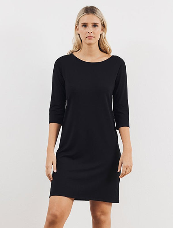 MP Relaxed Boatneck Dress