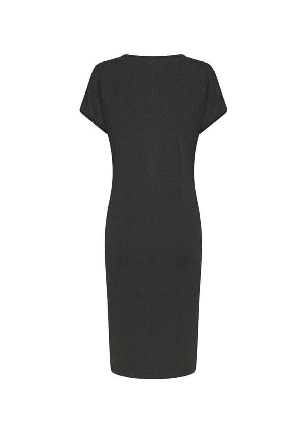 Mela Purdie Crepe Double Knit Shell Dress