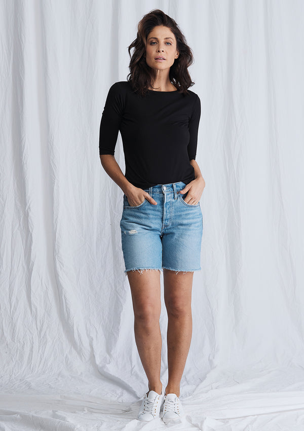 Levis 501 Mid Thigh Shorts