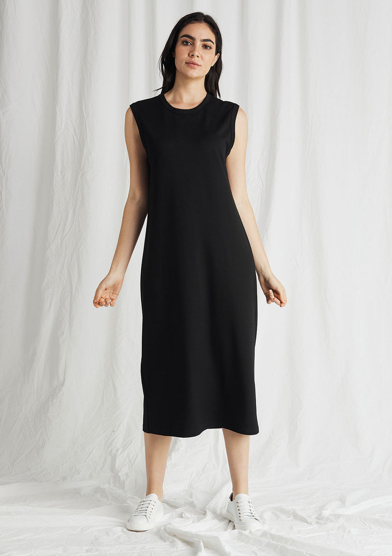Mela Purdie Compact Knit Tour Midi Dress