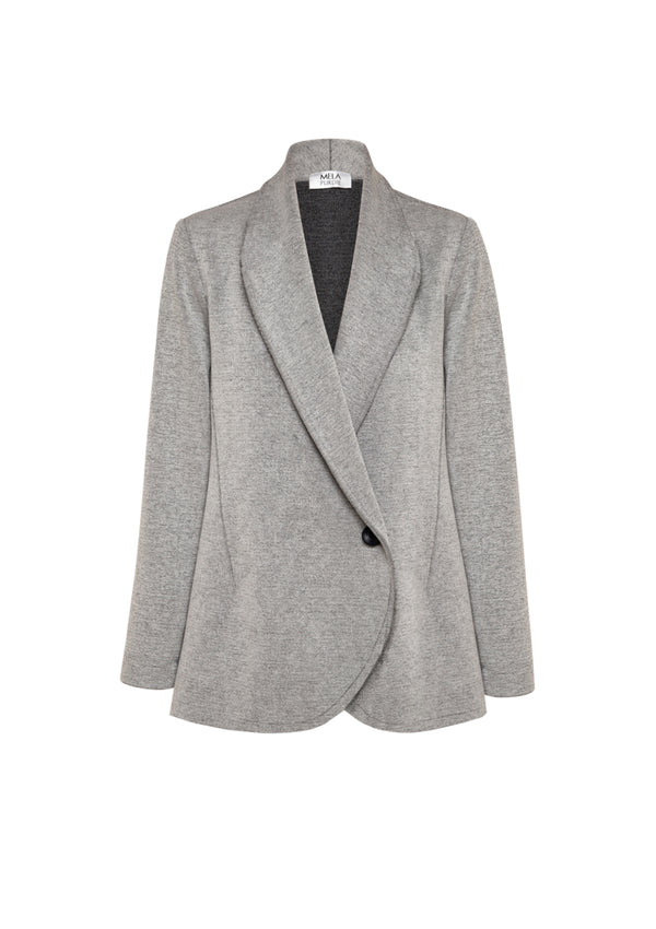 Mela Purdie Oxford Knit College Jacket