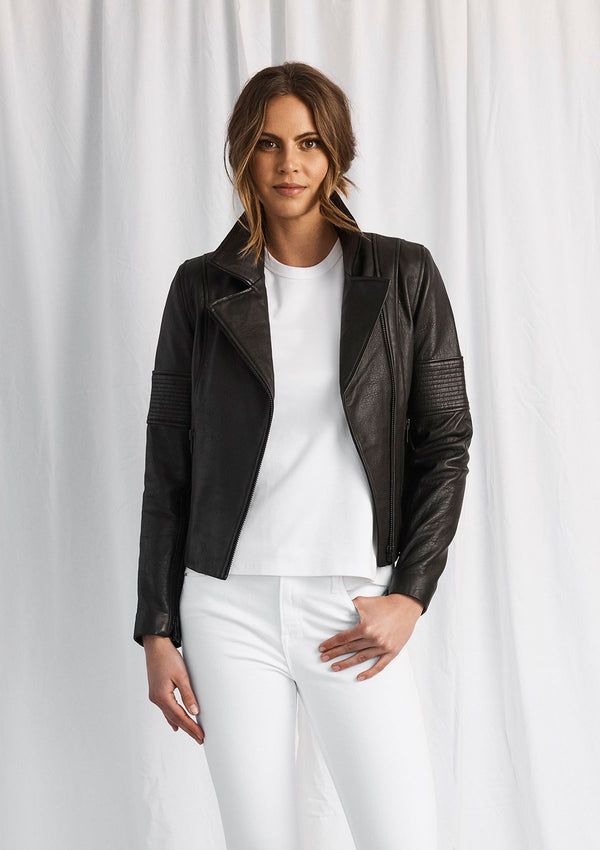 Luxe Deluxe Born To Be Wild Leather Jacket