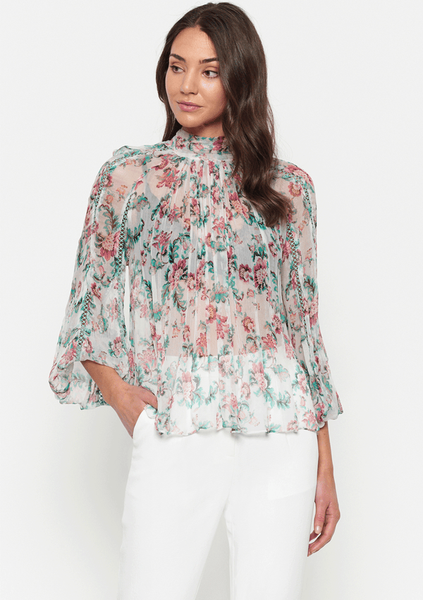 Luxe Deluxe The Real You Balloon Sleeve Blouse