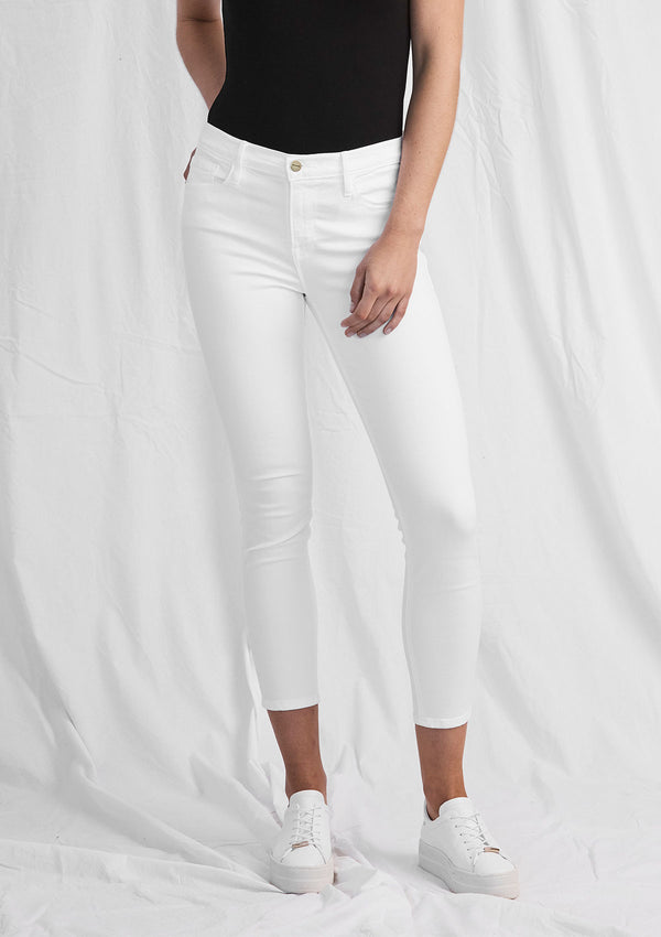 FRAME Le Color Crop Jeans