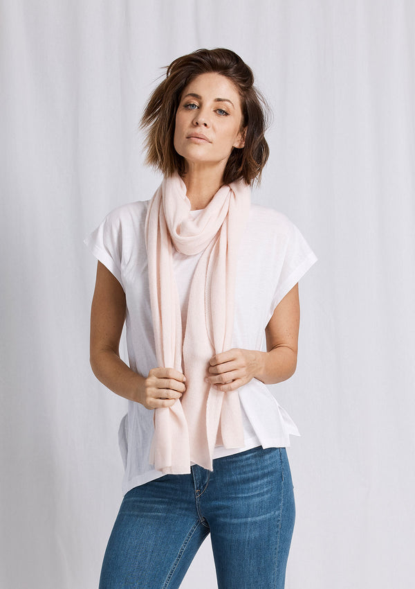 Khlassik Pink Essential Cashmere Scarf