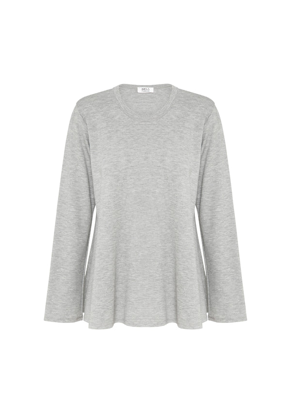 Mela Purdie Compact Knit Bell Sweater