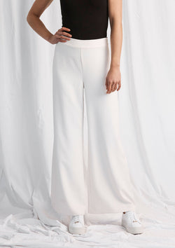 Luxe Deluxe Day-To-Night High Waisted Wide Leg Pant