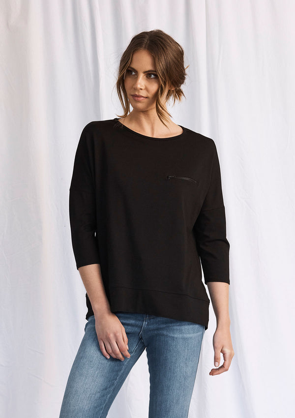 Mela Purdie Zip Pocket Sweater