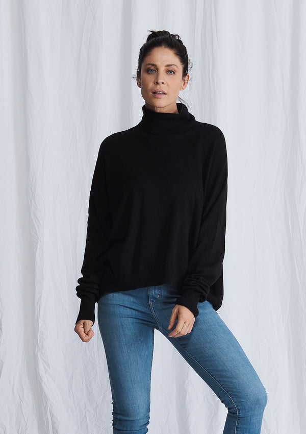 Alessandra A Polo Bay Sweater