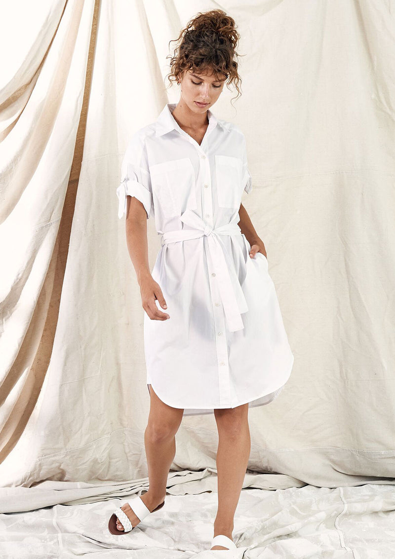 Layer'd Adra Shirt Dress