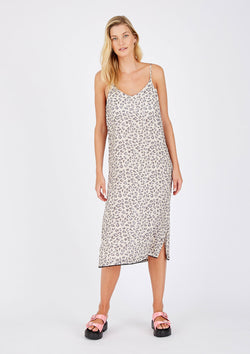 Alessandra Animal Print Beach Dress