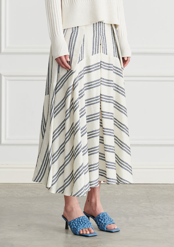 Apartment Clothing Bowie Pleated Maxi Skirt