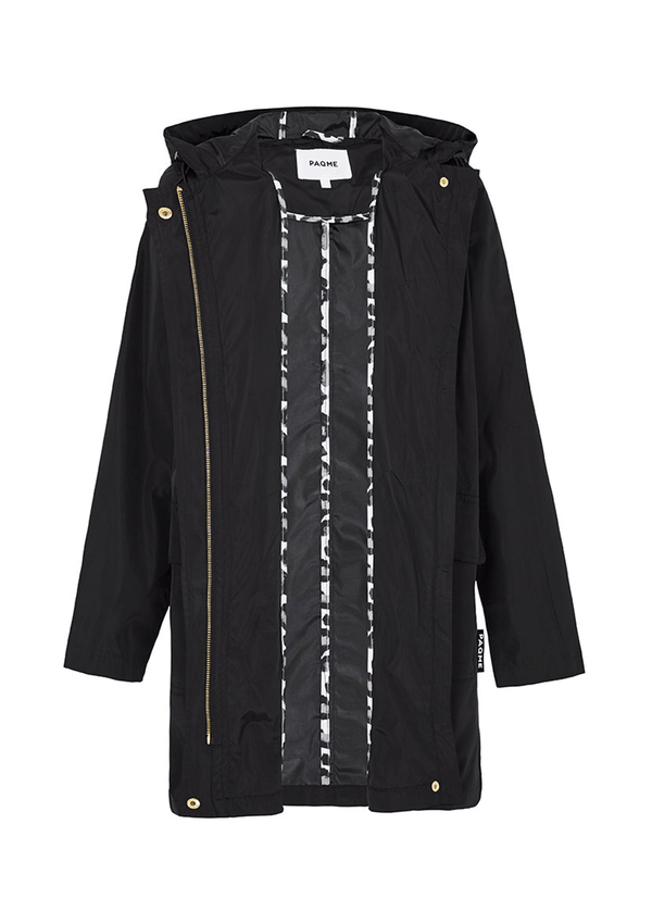 PAQME Black Anyday Raincoat