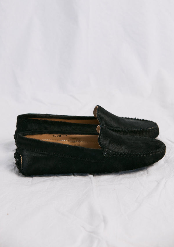 Khlassik Loafer Black Pony Hair