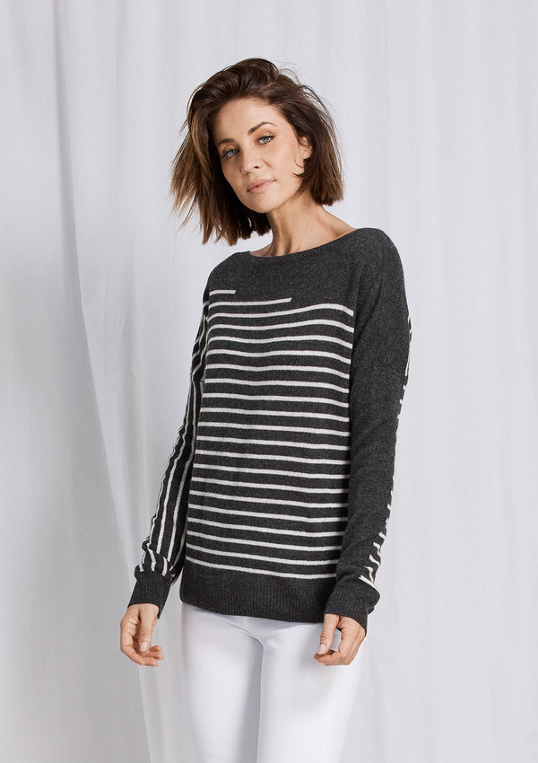 Charli Stripe Knit
