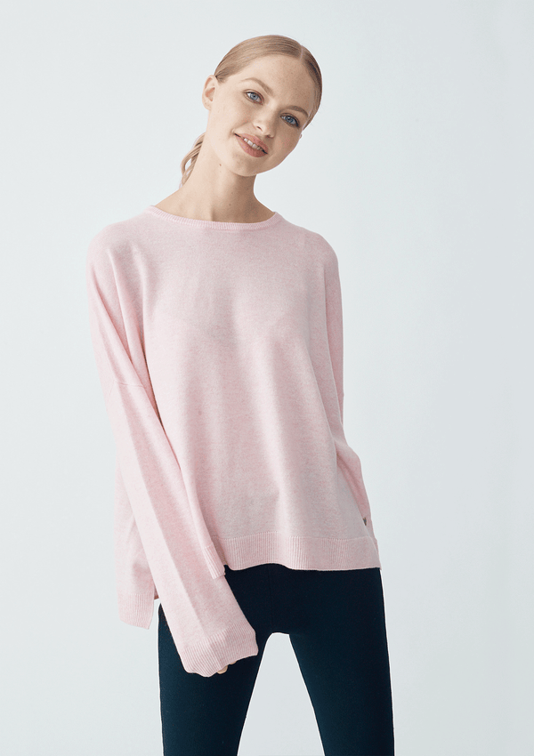 Alessandra Crew Cut Sweater