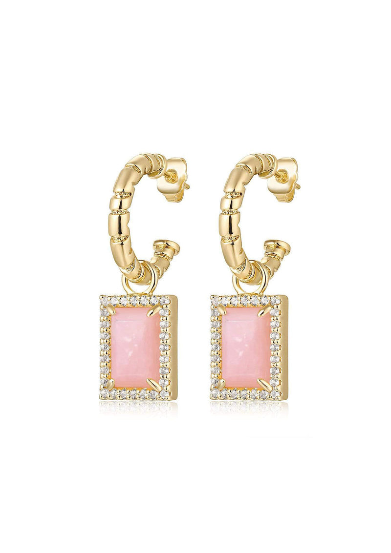 F+H Divinyls Gemstone Earrings