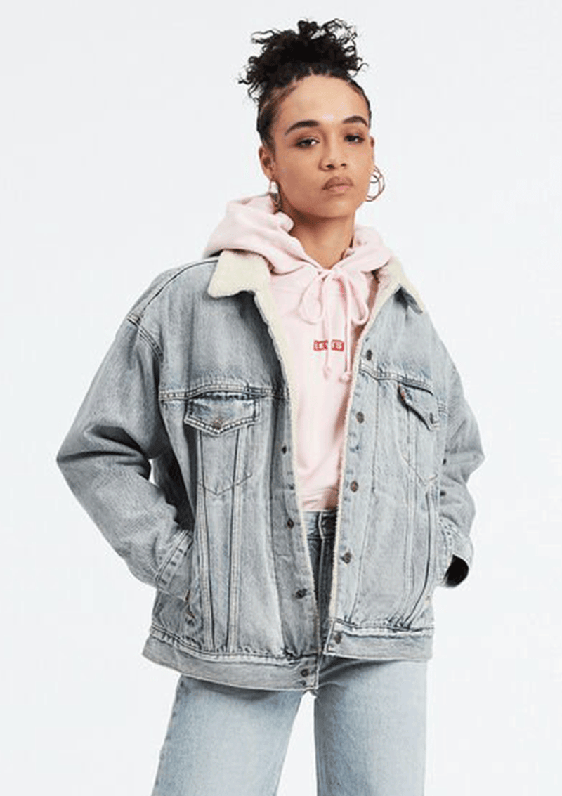 Levis Original Dad Sherpa Trucker Jacket