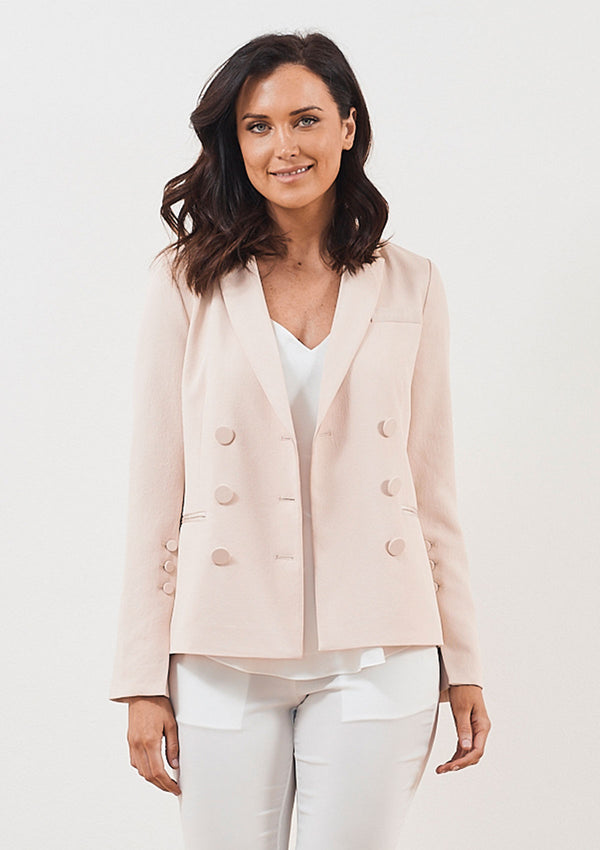 Luxe de Luxe Day to Night Drop Shoulder Jacket