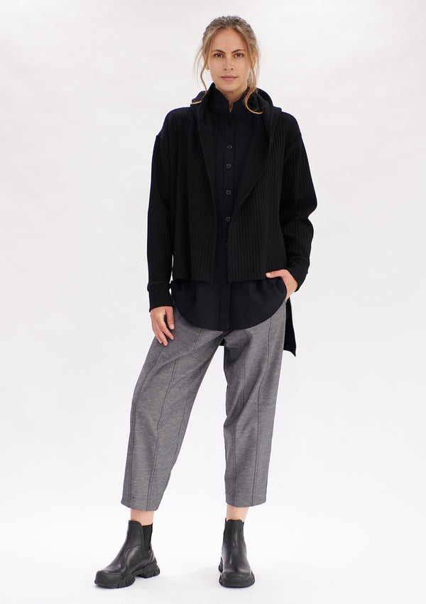 Mela Purdie Tube Rib Hooded Jacket