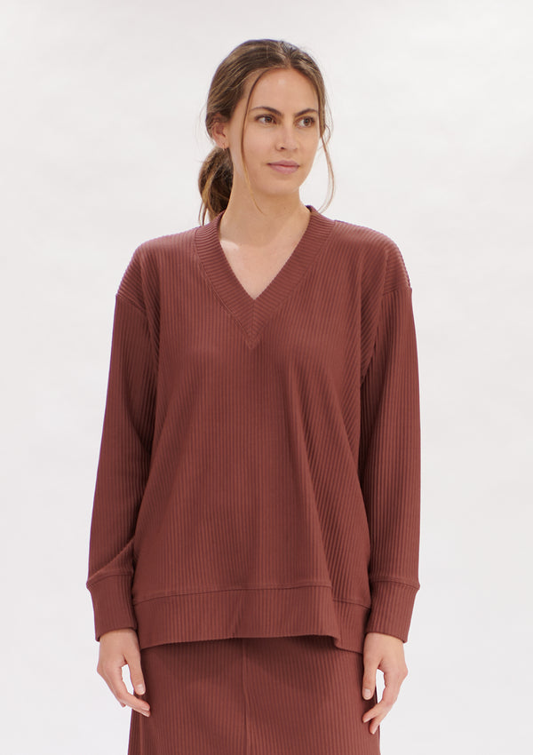 Mela Purdie Ridge Rib Edit Sweater