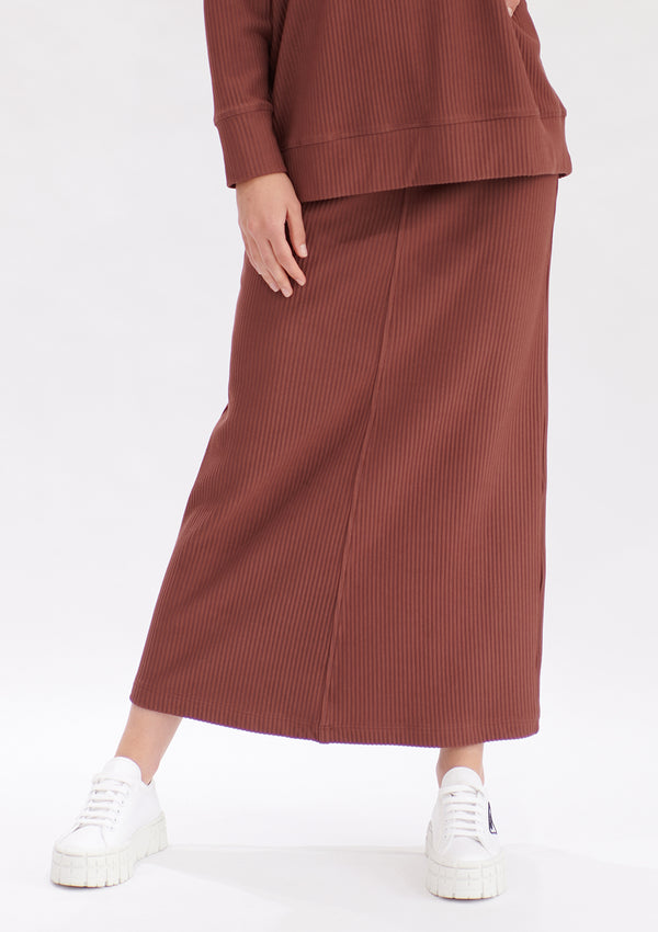 Mela Purdie Ridge Rib Arrow Skirt