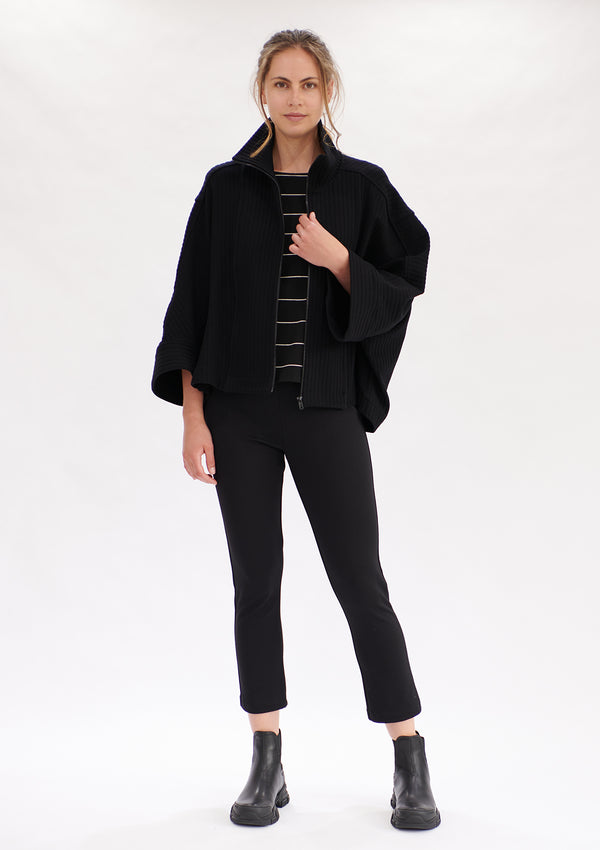 Mela Purdie Tube Rib Cape Jacket