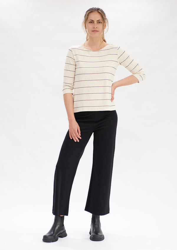 Mela Purdie Maxi Stripe Relaxed Boat Neck