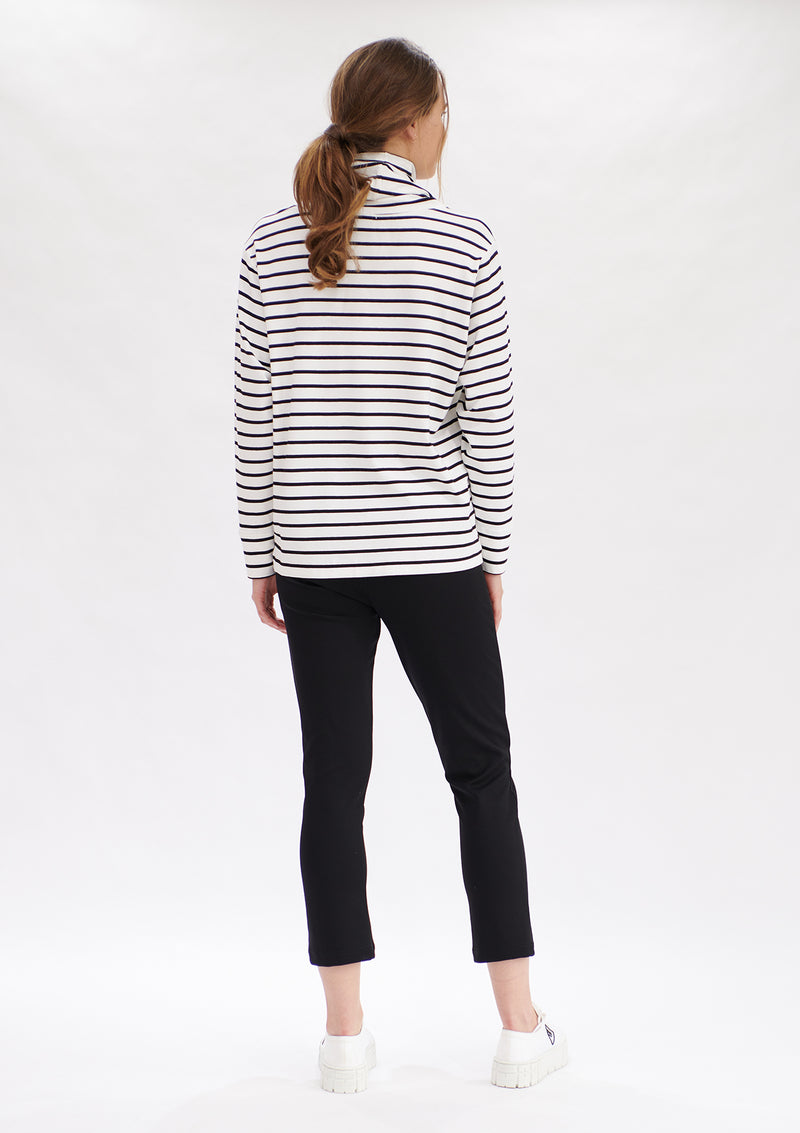 Mela Purdie Artisan Stripe Club Sweater
