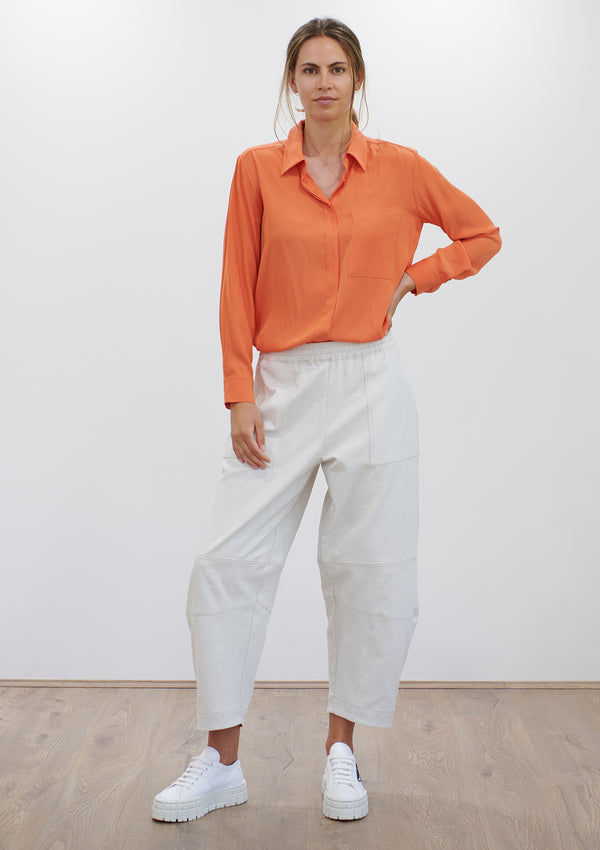 Mela Purdie Polished Canvas Frame Pant