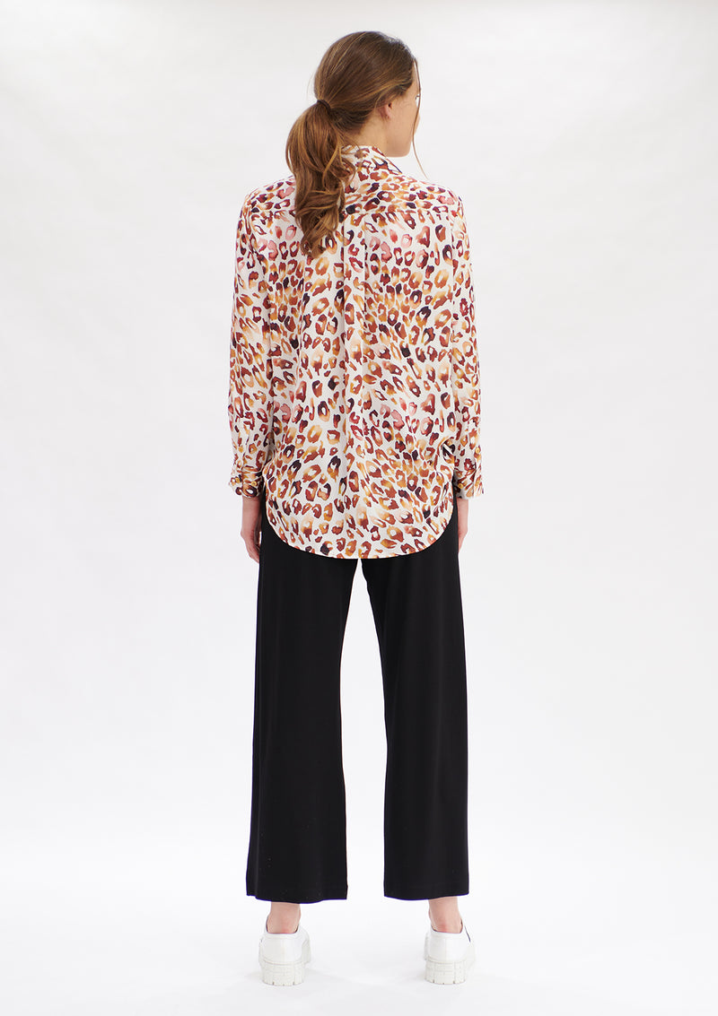 Mela Purdie Quartz Animal Print Soft Shirt