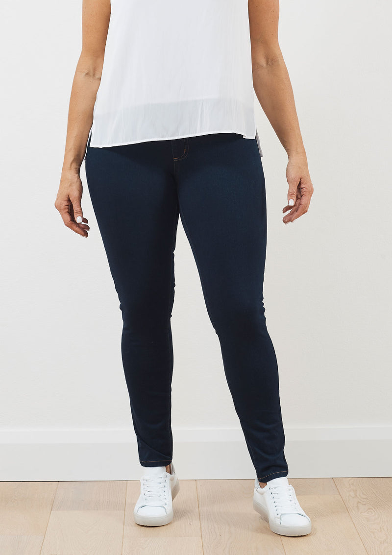French Dressing Jeans Wide Waisted Jegging