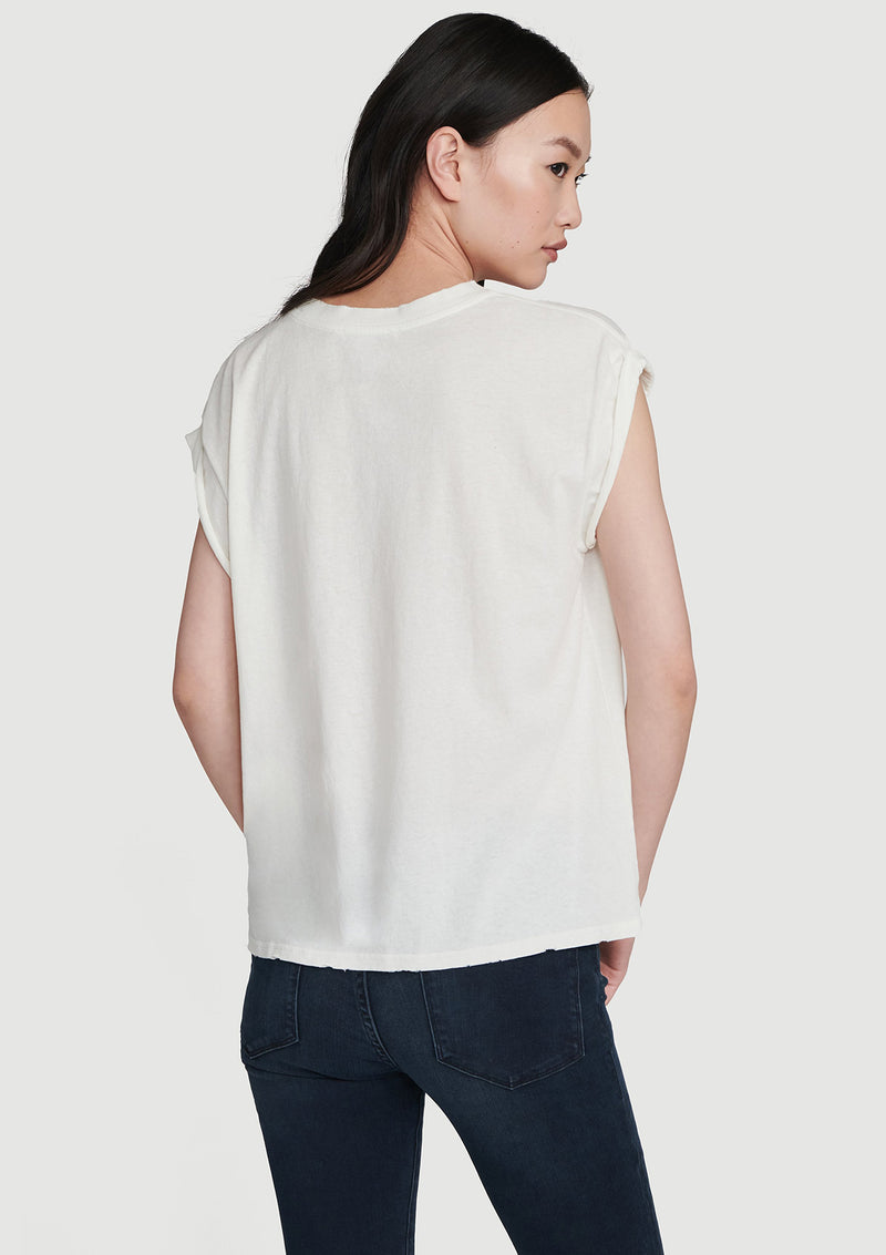 Frame Slouchy Rolled T
