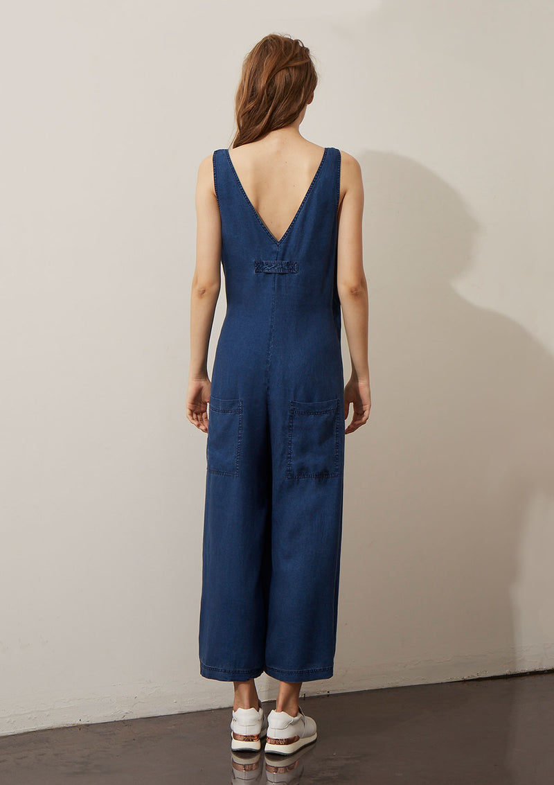 Akin Foundry Wrap Jumpsuit