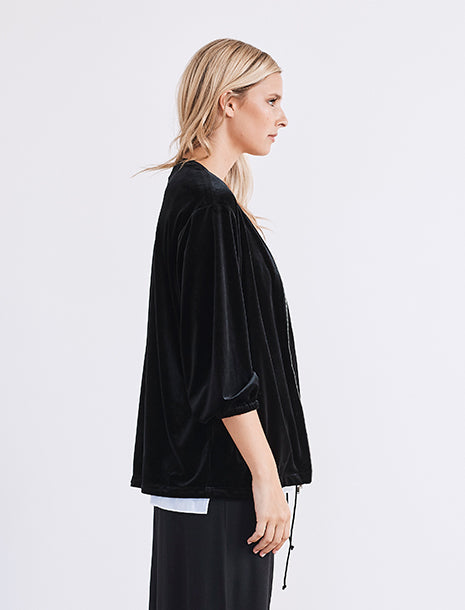 Lounge the Label Velvet Isola Jacket