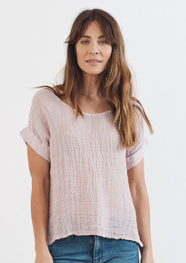 Khlassik Carrie Linen Tee